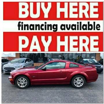 2006 Ford Mustang for sale at BP Auto Finders in Durham NC