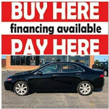 2005 Acura TSX for sale at BP Auto Finders in Durham NC