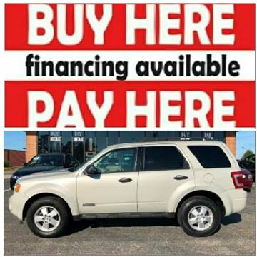 2008 Ford Escape for sale at BP Auto Finders in Durham NC