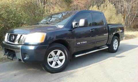 2008 Nissan Titan for sale at BP Auto Finders in Durham NC