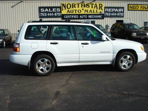 2002 Subaru Forester for sale at North Star Auto Mall in Isanti MN