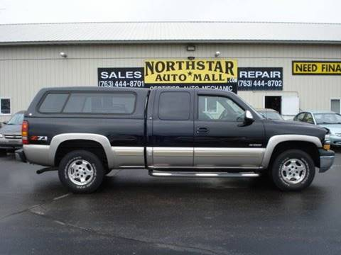 2002 Chevrolet Silverado 1500 for sale at North Star Auto Mall in Isanti MN
