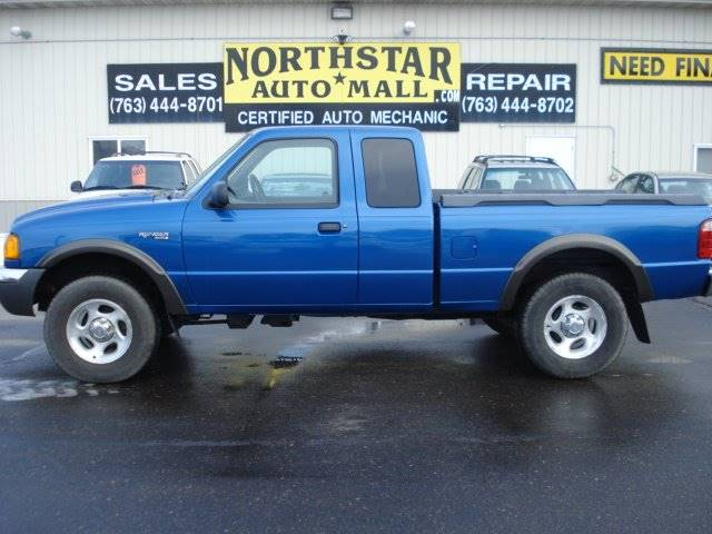 Ford Ranger Dr SuperCab Edge WD SB In Isanti MN North - 2001 ranger