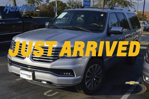 2016 Lincoln Navigator L for sale in Wilmington, NC