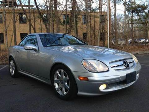 2001 Mercedes-Benz SLK-Class for sale at Luxury Unlimited Auto Sales Inc. in Trevose PA
