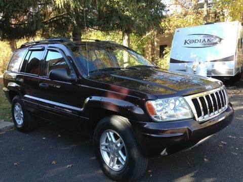 2004 Jeep Grand Cherokee for sale at Luxury Unlimited Auto Sales Inc. in Trevose PA