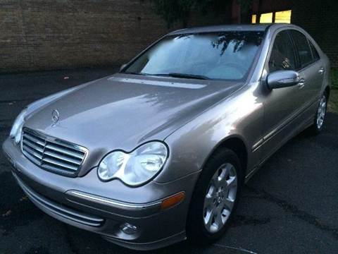 2005 Mercedes-Benz C-Class for sale at Luxury Unlimited Auto Sales Inc. in Trevose PA