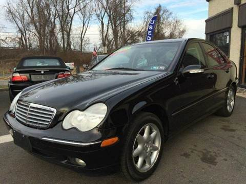 2002 Mercedes-Benz C-Class for sale at Luxury Unlimited Auto Sales Inc. in Trevose PA
