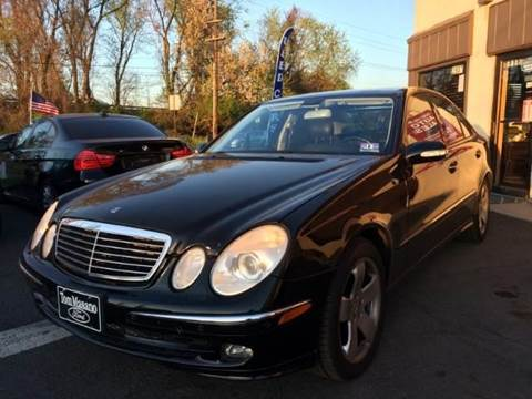 2005 Mercedes-Benz E-Class for sale at Luxury Unlimited Auto Sales Inc. in Trevose PA