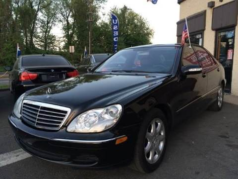 2004 Mercedes-Benz S-Class for sale at Luxury Unlimited Auto Sales Inc. in Trevose PA