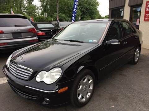 2006 Mercedes-Benz C-Class for sale at Luxury Unlimited Auto Sales Inc. in Trevose PA