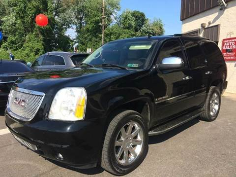2007 GMC Yukon for sale at Luxury Unlimited Auto Sales Inc. in Trevose PA
