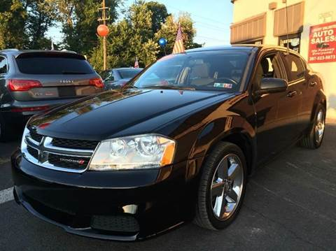 2012 Dodge Avenger for sale at Luxury Unlimited Auto Sales Inc. in Trevose PA