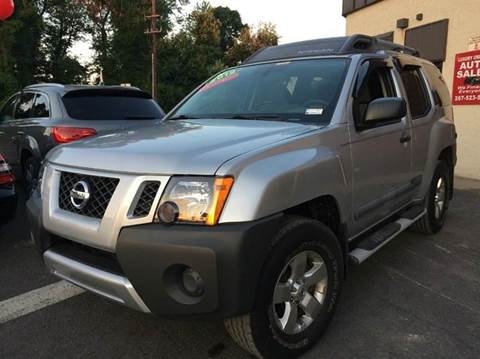 2012 Nissan Xterra for sale at Luxury Unlimited Auto Sales Inc. in Trevose PA