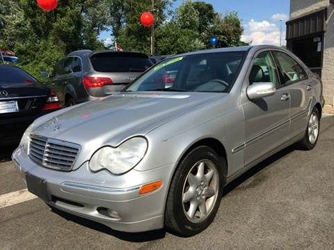 2003 Mercedes-Benz C-Class for sale at Luxury Unlimited Auto Sales Inc. in Trevose PA