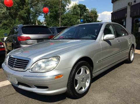 2001 Mercedes-Benz S-Class for sale at Luxury Unlimited Auto Sales Inc. in Trevose PA