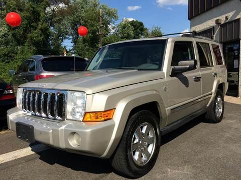 2007 Jeep Commander for sale at Luxury Unlimited Auto Sales Inc. in Trevose PA