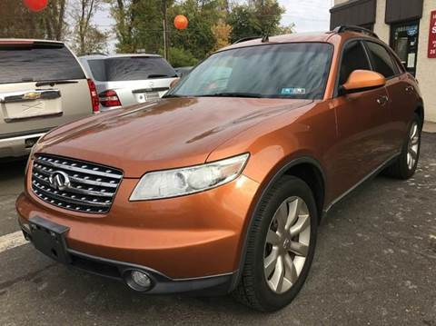 2003 Infiniti FX45 for sale at Luxury Unlimited Auto Sales Inc. in Trevose PA