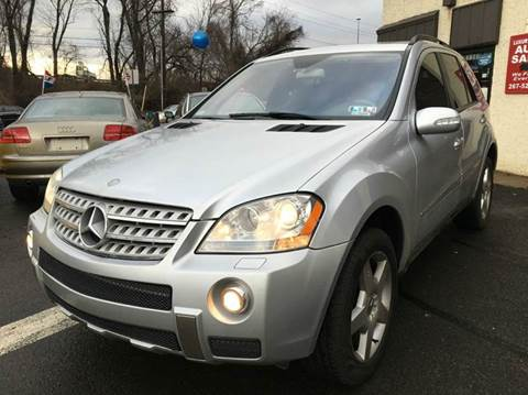 2006 Mercedes-Benz M-Class for sale at Luxury Unlimited Auto Sales Inc. in Trevose PA