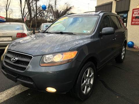 2007 Hyundai Santa Fe for sale at Luxury Unlimited Auto Sales Inc. in Trevose PA