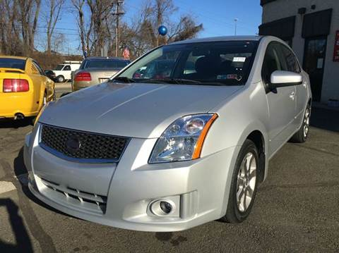 2008 Nissan Sentra for sale at Luxury Unlimited Auto Sales Inc. in Trevose PA
