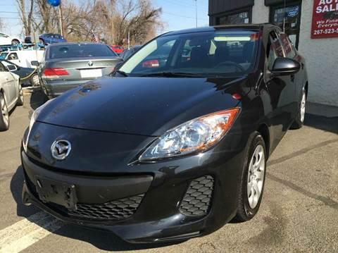 2012 Mazda MAZDA3 for sale at Luxury Unlimited Auto Sales Inc. in Trevose PA