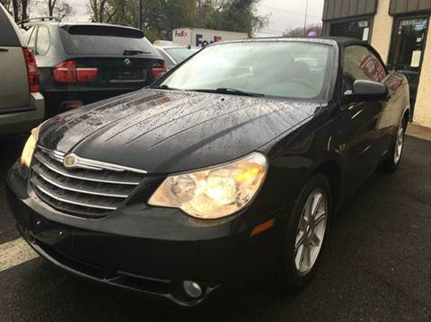 2008 Chrysler Sebring for sale at Luxury Unlimited Auto Sales Inc. in Trevose PA
