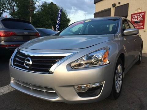 2013 Nissan Altima for sale at Luxury Unlimited Auto Sales Inc. in Trevose PA