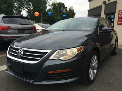 2012 Volkswagen CC for sale at Luxury Unlimited Auto Sales Inc. in Trevose PA