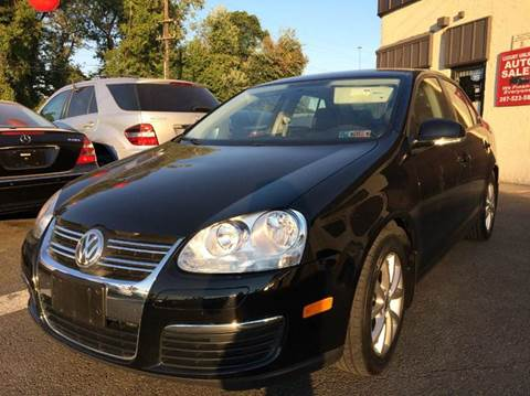 2010 Volkswagen Jetta for sale at Luxury Unlimited Auto Sales Inc. in Trevose PA