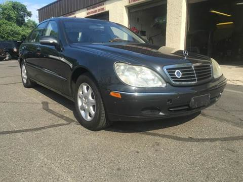 2002 Mercedes-Benz S-Class for sale at Luxury Unlimited Auto Sales Inc. in Trevose PA