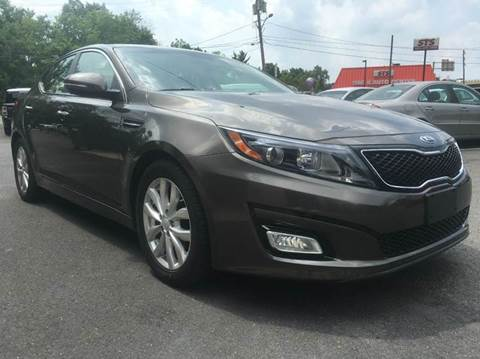 2014 Kia Optima for sale at Luxury Unlimited Auto Sales Inc. in Trevose PA