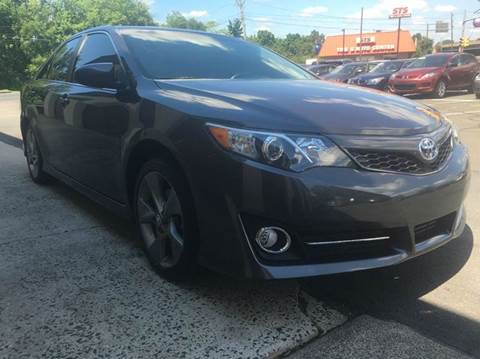 2012 Toyota Camry for sale at Luxury Unlimited Auto Sales Inc. in Trevose PA