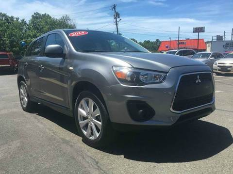 2014 Mitsubishi Outlander Sport for sale at Luxury Unlimited Auto Sales Inc. in Trevose PA
