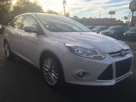 2012 Ford Focus for sale at Luxury Unlimited Auto Sales Inc. in Trevose PA