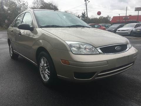 2007 Ford Focus for sale at Luxury Unlimited Auto Sales Inc. in Trevose PA