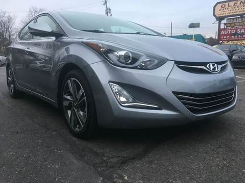 2015 Hyundai Elantra for sale at Luxury Unlimited Auto Sales Inc. in Trevose PA