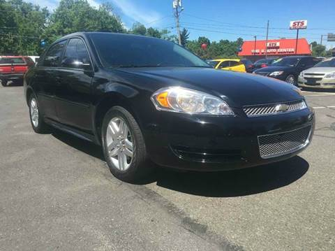 2013 Chevrolet Impala for sale at Luxury Unlimited Auto Sales Inc. in Trevose PA