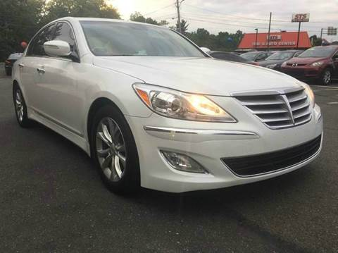 2013 Hyundai Genesis for sale at Luxury Unlimited Auto Sales Inc. in Trevose PA