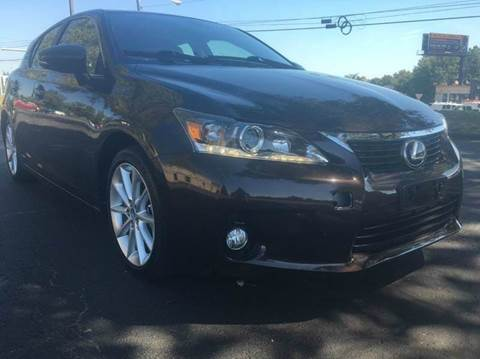 2012 Lexus CT 200h for sale at Luxury Unlimited Auto Sales Inc. in Trevose PA