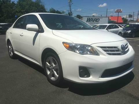 2013 Toyota Corolla for sale at Luxury Unlimited Auto Sales Inc. in Trevose PA