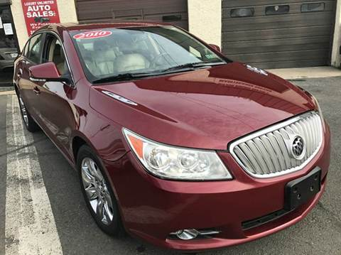 2010 Buick LaCrosse for sale at Luxury Unlimited Auto Sales Inc. in Trevose PA