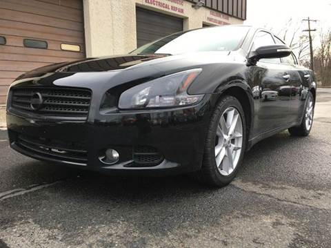 2010 Nissan Maxima for sale at Luxury Unlimited Auto Sales Inc. in Trevose PA