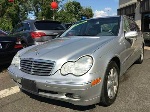 2004 Mercedes-Benz C-Class for sale at Luxury Unlimited Auto Sales Inc. in Trevose PA
