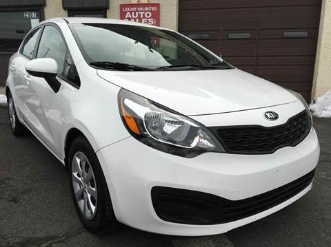 2015 Kia Rio for sale at Luxury Unlimited Auto Sales Inc. in Trevose PA