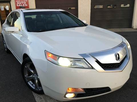 2009 Acura TL for sale at Luxury Unlimited Auto Sales Inc. in Trevose PA
