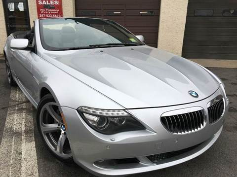 2009 BMW 6 Series for sale at Luxury Unlimited Auto Sales Inc. in Trevose PA