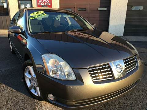 2006 Nissan Maxima for sale at Luxury Unlimited Auto Sales Inc. in Trevose PA