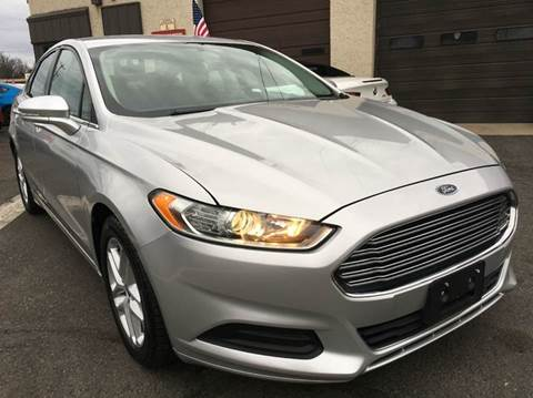 2013 Ford Fusion for sale at Luxury Unlimited Auto Sales Inc. in Trevose PA