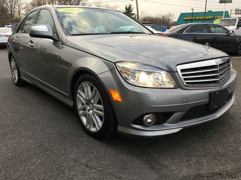 2009 Mercedes-Benz C-Class for sale at Luxury Unlimited Auto Sales Inc. in Trevose PA